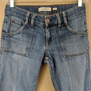 Old Navy Jeans - Old Navy Patch Pocket Low Rise Boot Cut Sz 8S